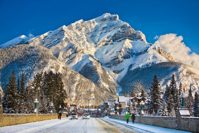 Banff... (Photo CNW)