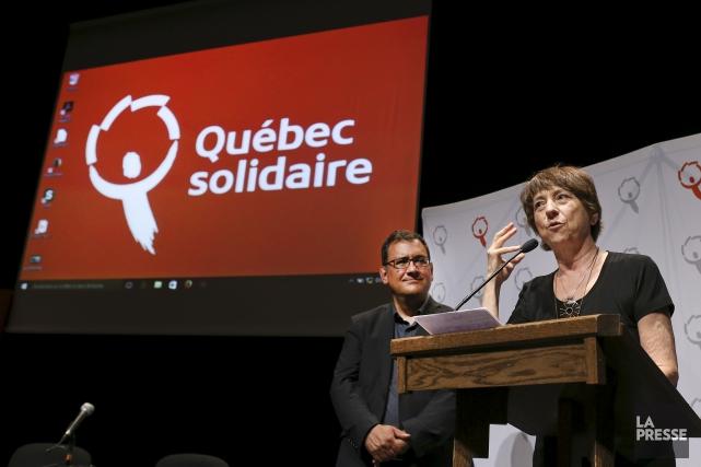 ÉDITORIAL / La main tendue de la formation de gauche Québec solidaire (QS) au... (Archives, La Presse)