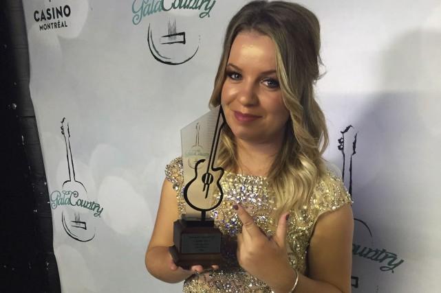 L'auteure-compositrice-interprète Gabrielle Goulet a remporté le prix Chanson... (Courtoisie)