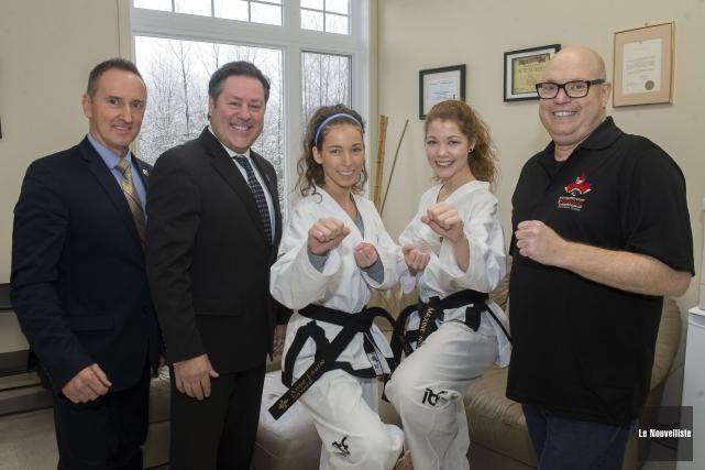 La programmation du Championnat national de taekwondo ITF... (Stéphane Lessard, Le Nouvelliste)