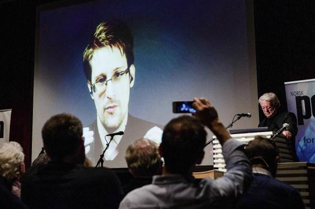 Edward Snowden a dit ne pas craindre que... (AFP, Berit Roald)