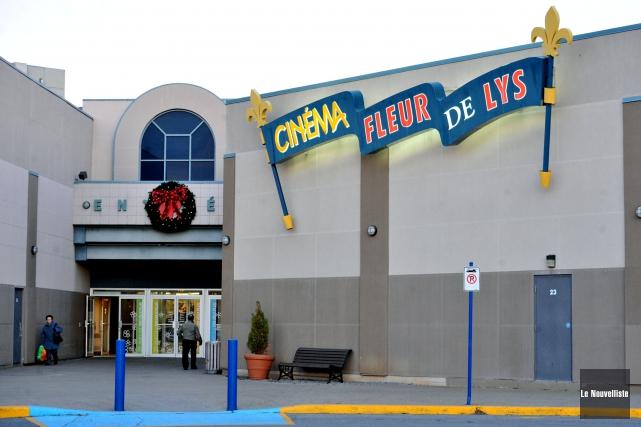 L'actuel cinéma Fleur de Lys du centre commercial... (Stéphane Lessard, Le Nouvelliste)