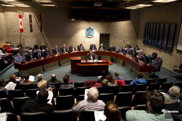 Le conseil municipal a voté à l'unanimité pour... (Sylvain Mayer, Le Nouvelliste)