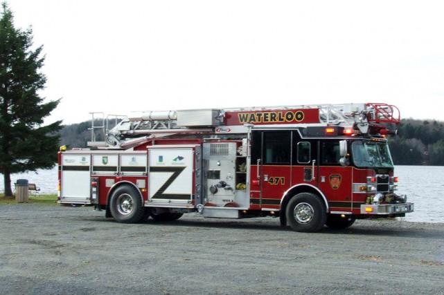 Waterloo peut maintenant compter sur un nouveau camion-incendie.... (fournie)