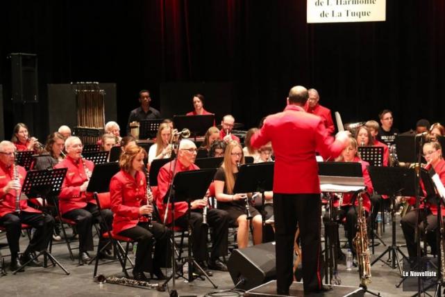 L'Harmonie de La Tuque partagera la scène avec... (Audrey Tremblay, Le Nouvelliste)