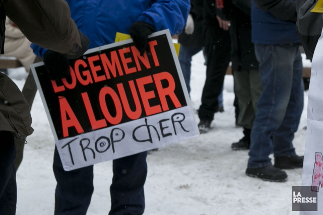Le FRAPRU prévoit des manifestations dans plusieurs villes du Québec, mardi,... (Photo Archives La Presse)