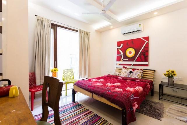 Combien pour une nuit dans cette chambre privée,... (PHOTO TIRÉE DU SITE AIRBNB)