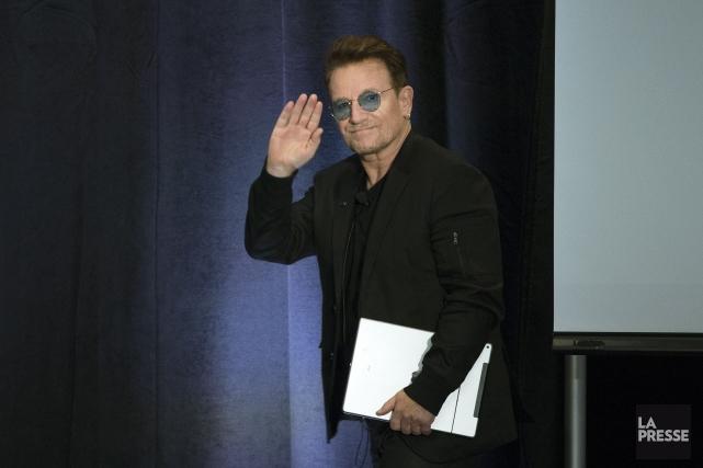 Bono... (Archives La Presse)