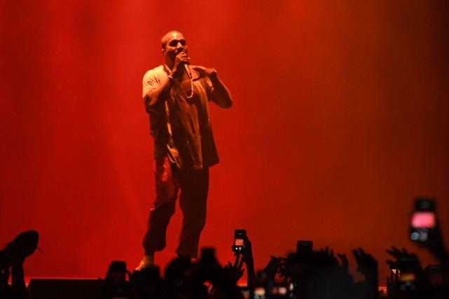 Kanye West... (AFP)