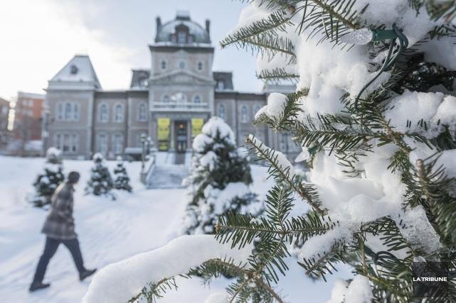 Après la douceur de l'an dernier, l'hiver qui vient s'annonce plus «classique»,... (Archives La Tribune, Frédéric Côté)
