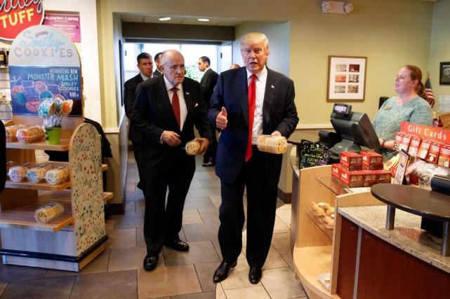 «M. Trump a dit plus d'une fois qu'il... (PHOTO EVAN VUCCI, ARCHIVES ASSOCIATED PRESS)