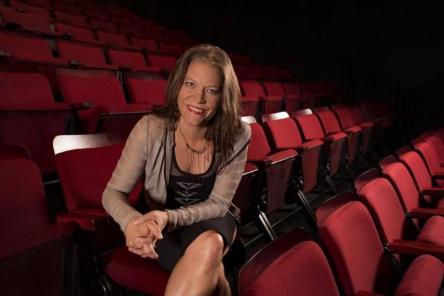 L'auteure et metteure en scène Anne-Marie White.... (Photo Marianne Duval)