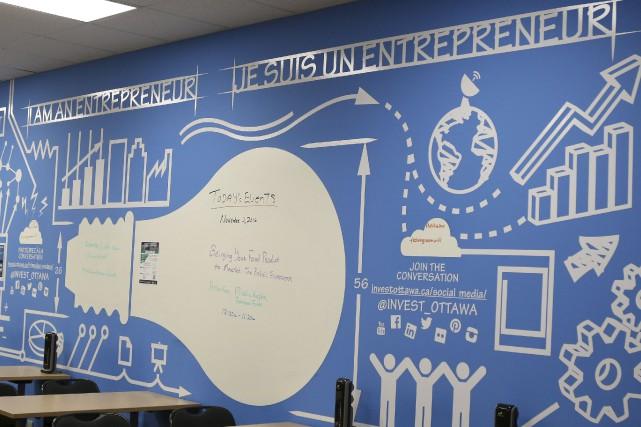 Mise sur pied pour soutenir les entrepreneurs de startup dans le secteur des... (Patrick Woodbury, Le Droit)