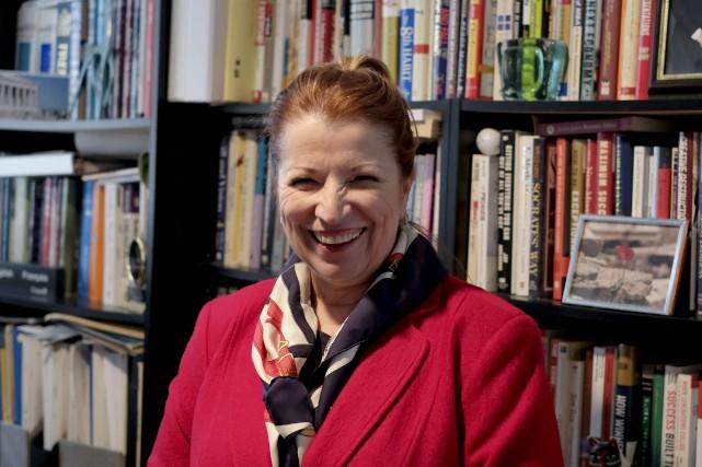 La présidente de Groupe Vision management consulting, Diane...