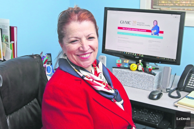 La présidente de Groupe Vision management consulting, Diane... (Patrick Woodbury, Le Droit)