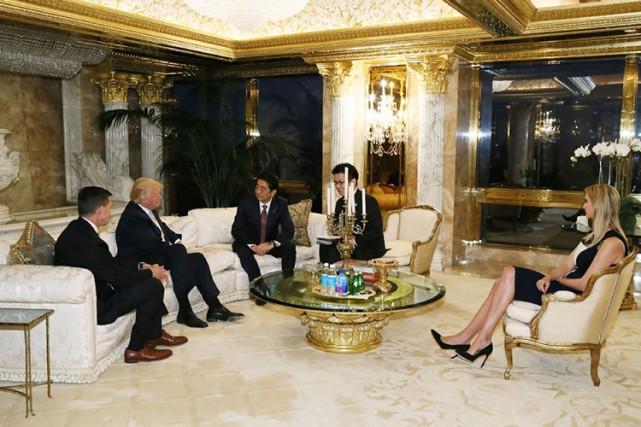Ivanka Trump a par ailleurs assisté jeudi soir... (PHOTO AFP)