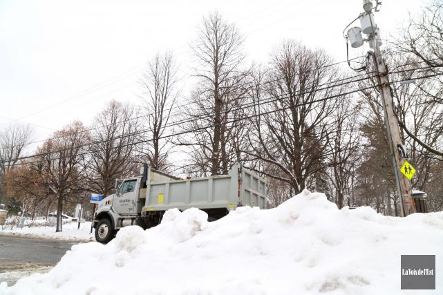 La première bordée de neige n'a pas attendu... (Janick Marois, La Voix de l'Est)
