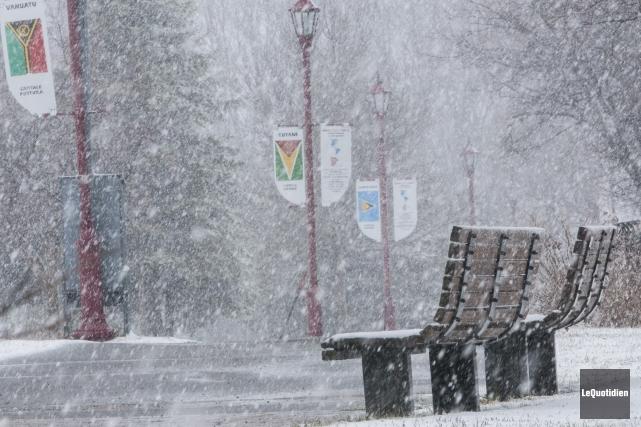 Saguenay devrait être légèrement sous les normales de... (Archives Le Quotidien, Michel Tremblay)