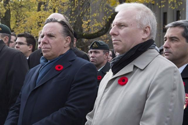 Le chef de la Coalition Avenir Québec, François... (Photothèque Le Soleil)