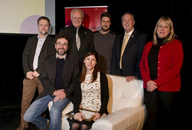 Les gagnants du Grand Prix du livre de... (Spectre Média, Jessica Garneau)