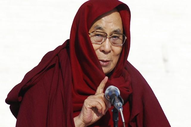 Le dalaï-lama a déclaré vouloir visiter les États-Unis... (Photo Ganbat Namjilsangarav, archives Associated Press)