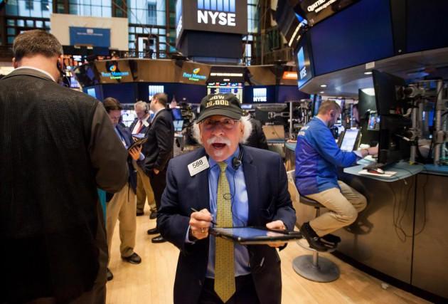 Pour la cinquième séance consécutive, Wall Street a accroché des records à la... (PhotoMichael Nagle, Bloomberg)