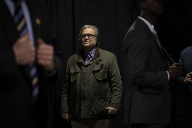 La carrière en politique de Stephen K. Bannon,... (Photo Stephen Crowley, archives The New York Times)
