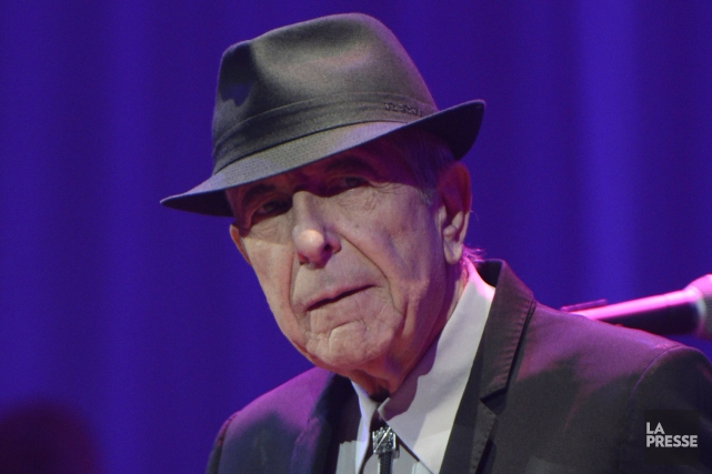 Leonard Cohen... (Photo Bernard Brault, archives La Presse)