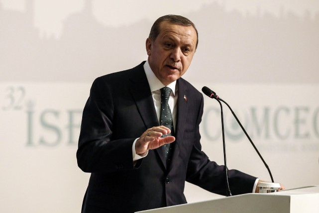 Recep Tayyip Erdogan... (Photo Agence France-Presse)