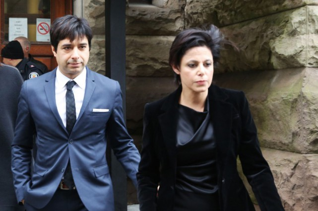 Jian Ghomeshi et son avocate Marie Henein... (Archives Reuters)