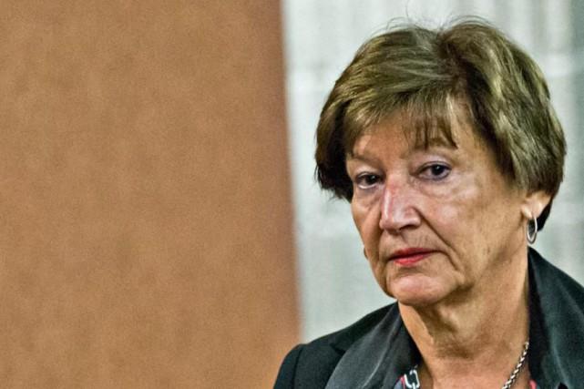 Suzanne Vadboncoeur, juge de la Cour du Québec.... (Photo Patrick Sanfaçon, archives La Presse)