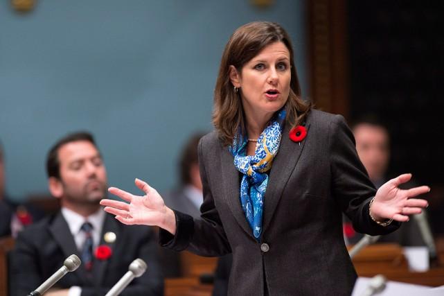 La ministre de la Justice, Stéphanie Vallée.... (Jacques Boissinot, Archives La Presse canadienne)