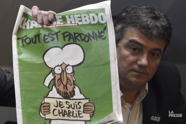 Le journal satirique français Charlie Hebdo, cible d'un attentat... (PHOTO ARCHIVES AFP)