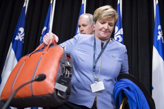 La vérificatrice générale du Québec,Guylaine Leclerc, a déposé... (La Presse canadienne, Jacques Boissinot)