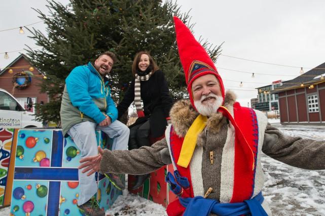Papa Gnome, un personnage fantastique «venu de Finlande... (Spectre Média, Jessica Garneau)