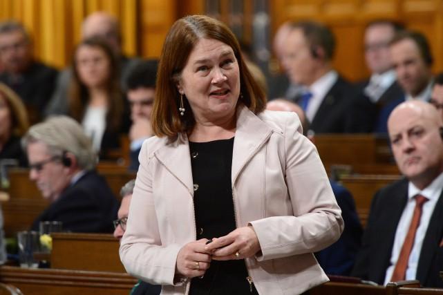 La ministre fédérale de la Santé, Jane Philpott... (Photo Adrian Wyld, La Presse canadienne)