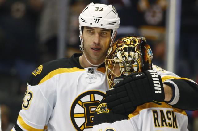 Alors que les Bruins de Boston jouent leur meilleur hockey, ils ont perdu les... (PHOTO AP)