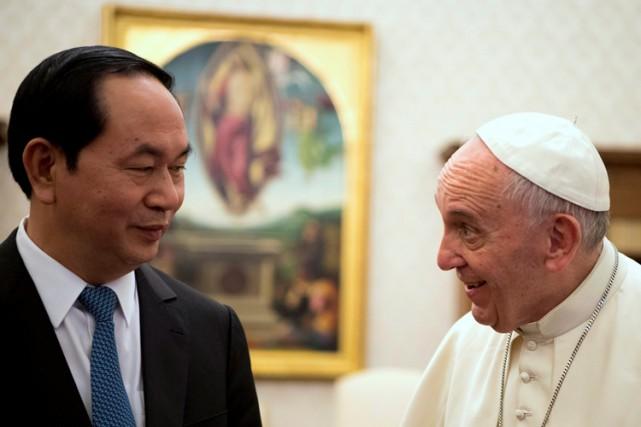 Le rapprochement entre le Saint-Siège et le Vietnam... (PHOTO REUTERS)