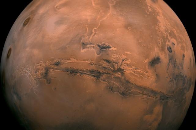À l'avenir, lors de longues missions sur Mars... (PHOTO AP)