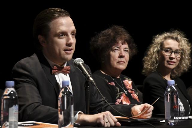 Jean-Philippe Tremblay agit à titre de directeur artistique... (Photo Le Quotidien, Michel Tremblay)