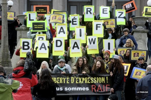 ÉDITORIAL / La 100e vigile pour la liberté d'expression et la... (Archives, La Tribune)