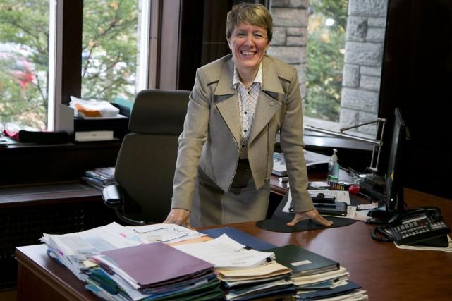 La directrice régionale de Sherbrooke Innopole, Josée Fortin,... (Archives, La Tribune)