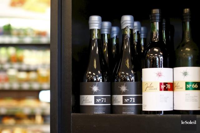 L'étiquetage complet du vin, qui était réservé exclusivement... (Photothèque Le Soleil)