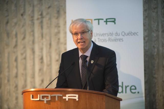 Le recteur de l'UQTR, Daniel McMahon.... (Sylvain Mayer, Le Nouvelliste)