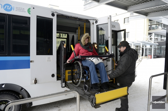 La Société de transport du Saguenay n'entend plus... (Archives Le Quotidien, Jeannot Lévesque)