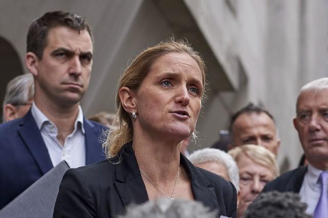 Le mari de la députée Jo Cox et... (AFP, Niklas Halle'n)