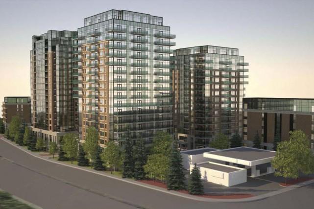 Près de 525 logements seront construits dans les... (Courtoisie)