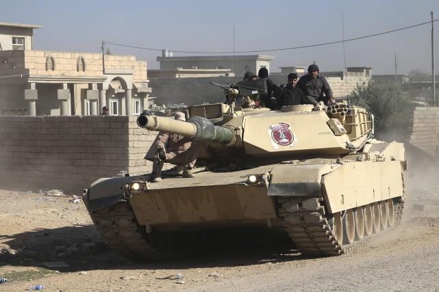 Après avoir repris le quartier d'Aden, les troupes... (AP)