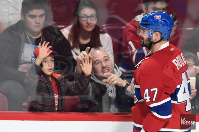 Les partisans du Canadien ont rapidement adopté Alexander... (Photo Bernard Brault, La Presse)