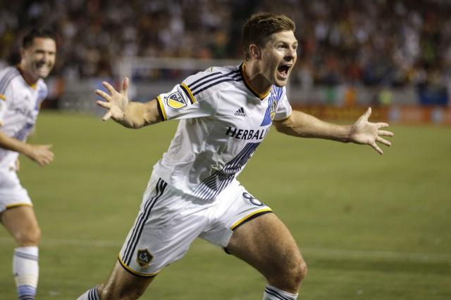 Steven Gerrard... (Photo Jae C. Hong, archives AP)